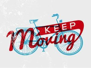 Retro Bike Concept Typography by cienpies