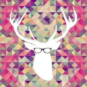 Retro Hipsters Elements by cienpies
