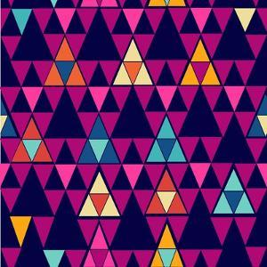 Trendy Hipster Geometric Pattern by cienpies