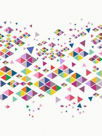 Trendy Hipster Geometric Pattern