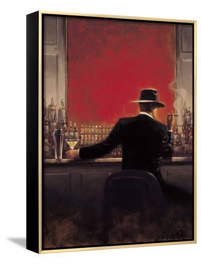 Cigar Bar-Brent Lynch-Framed Canvas Print