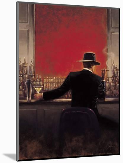 Cigar Bar-Brent Lynch-Mounted Premium Giclee Print