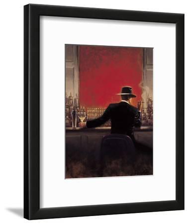 Cigar Bar-Brent Lynch-Framed Premium Giclee Print