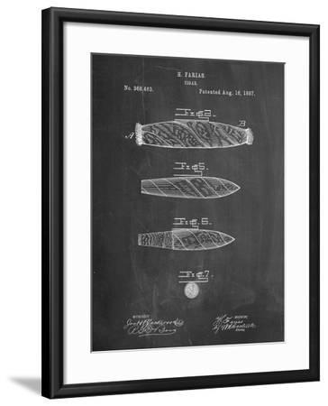 Cigar Tobacco Patent-Cole Borders-Framed Art Print