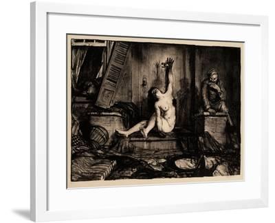 Cigarette, 1918-George Wesley Bellows-Framed Giclee Print