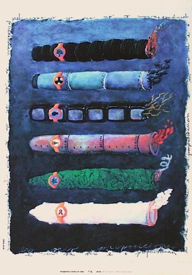 Cigarillos-Elvis Lopez-Collectable Print