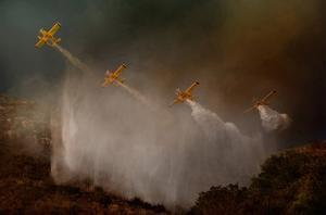 Cilento National Park Fire Fight