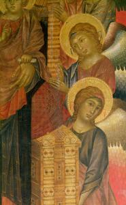 Angels from the Santa Trinita Altarpiece by Cimabue