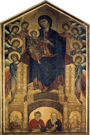 The Madonna in Majesty, 1285-1286