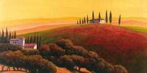 Tuscan Skyline II by Cimino