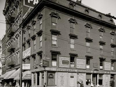 Cincinnati, Hamilton and Dayton Railroad Office, Detroit, Mich.--Photo