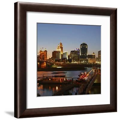 Cincinnati, Ohio, USA-Anna Miller-Framed Premium Photographic Print