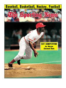Cincinnati Reds 2B Joe Morgan - July 5, 1975