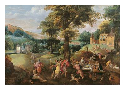 Cincinnatus Receiving the Deputies of Rome- Belgian-Giclee Print
