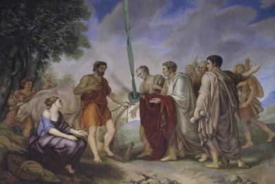 Cincinnatus Receiving the Roman Senate-Giorgio Sideri-Giclee Print