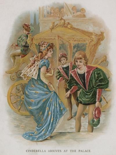 Cinderella Arrives at the Palace--Giclee Print