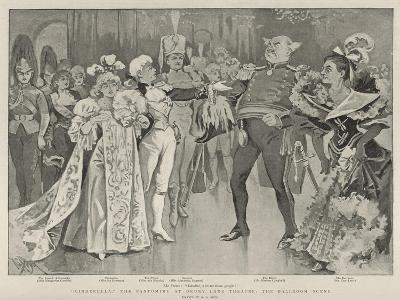 Cinderella, the Pantomime at Drury Lane Theatre, the Ballroom Scene-Alexander Stuart Boyd-Giclee Print