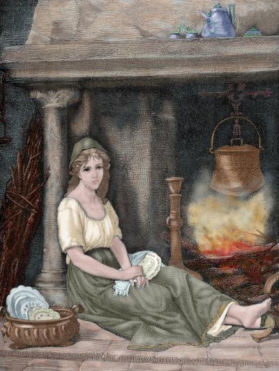 Cinderella-Paul Legrand-Giclee Print