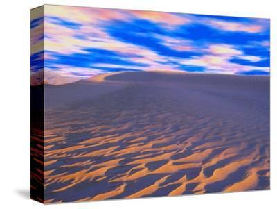 Multicolored Sky over Sand Dunes