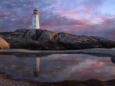 Tide Pool by Lighthouse