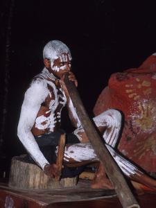 Aboriginal Dancer Didgeridoo, Pamagirri, Queensland, Cairns, Australia by Cindy Miller Hopkins