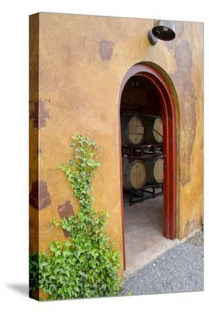 Anyela's Vineyard Winery, Wine Cellar, Skaneateles, New York, USA