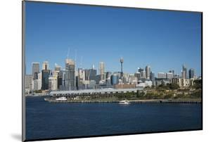 Australia, Sydney. Downtown Skyline from White Bay Harbor by Cindy Miller Hopkins