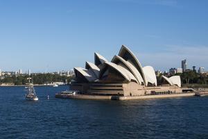 Australia, Sydney. Harbor Area, Landmark Sydney Opera House by Cindy Miller Hopkins