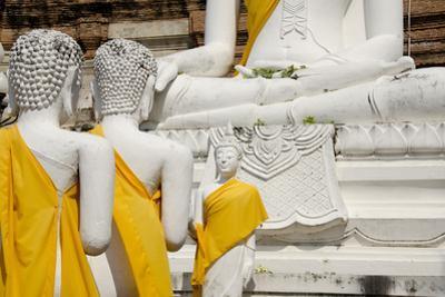 Buddha Statue, Wat Phra Chao Phya-Thai, Ayutthaya, Thailand by Cindy Miller Hopkins