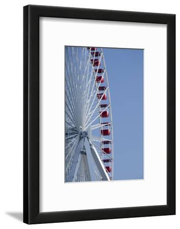Detail of Navy Pier Farris Wheel, Chicago, Illinois, USA