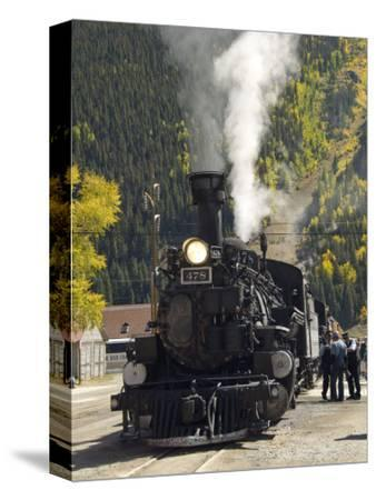 Durango & Silverton Narrow Gauge Railroad, Silverton Station, Colorado, USA