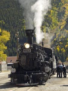 Durango & Silverton Narrow Gauge Railroad, Silverton Station, Colorado, USA by Cindy Miller Hopkins