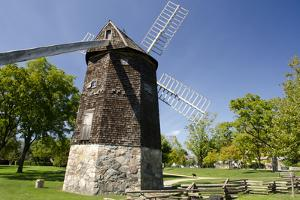 Farris Windmill, Greenfield Village, Dearborn, Michigan, USA by Cindy Miller Hopkins
