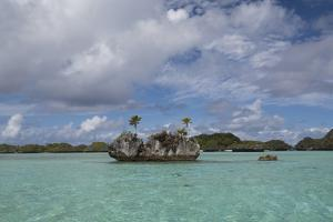 Fiji, Island of Fulanga. Lagoon Inside Volcanic Caldera by Cindy Miller Hopkins
