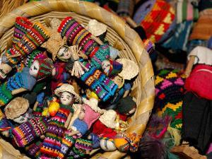Finger Dolls, Traditional Textiles, Textile Museum, Casa del Tejido, Antigua, Guatemala by Cindy Miller Hopkins