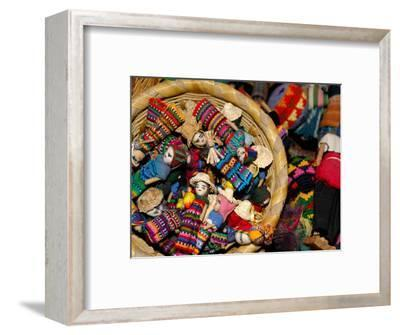Finger Dolls, Traditional Textiles, Textile Museum, Casa del Tejido, Antigua, Guatemala