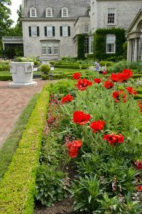 George Eastman House, Museum, Garden, Rochester, New York, USA by Cindy Miller Hopkins