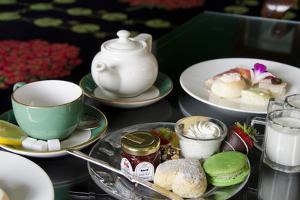 Grand Hotel Traditional Tea, Mackinac Island, Michigan, USA by Cindy Miller Hopkins