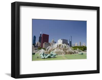 Grant Park, Chicago's Magnificent Mile Skyline, Chicago, Illinois