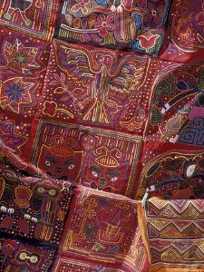 Hand-Stitched Textiles, San Blas Islands, Panama by Cindy Miller Hopkins