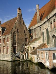 Historic Brugge, Belgium by Cindy Miller Hopkins