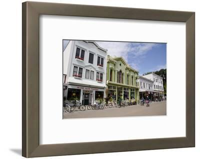 Historic Downtown Streets of Mackinac, Michigan, USA