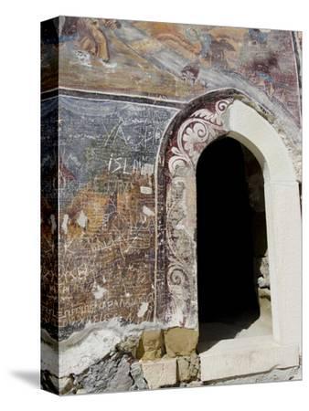 Inside Sumela Monastery, Trabzon, Turkey