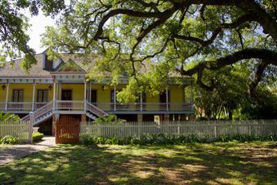 Laura' Historic Antebellum Creole Plantation House, Louisiana, USA by Cindy Miller Hopkins