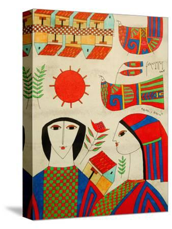 Llort Painting, Fernando Llort Gallery, San Salvador, El Salvador