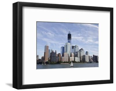 Manhattan City Skyline, New York, New York, USA
