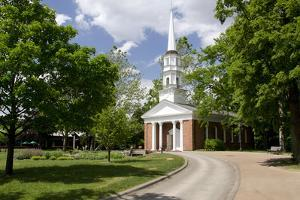 Martha-Mary Chapel, Church Built by Henry Ford, Greenfield, Wyandotte, Michigan, USA by Cindy Miller Hopkins
