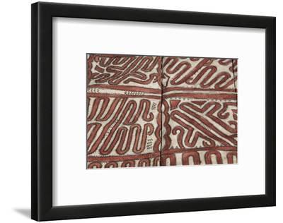 Melanesia, Papua New Guinea, Tufi. Traditional Handmade Tapa Cloth