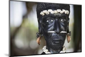 Melanesia, Solomon Islands, Guadalcanal Island, Honiara. Wood Carving by Cindy Miller Hopkins