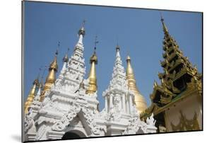 Myanmar, Yangon. Shwedagon Pagoda, Holiest Buddhist Shrine in Myanmar by Cindy Miller Hopkins